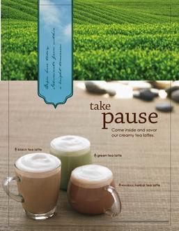 take pause